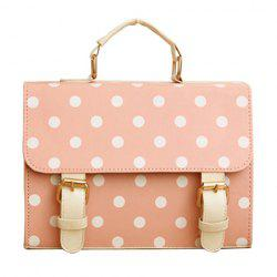 Fashion Women Lady Designer Polka dot Satchel Shoulder Bag Purse Handbag Tote Bag -