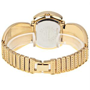 Tivaye Quartz Watch New Style Design Steel Watch Band for Women (Gold) -
