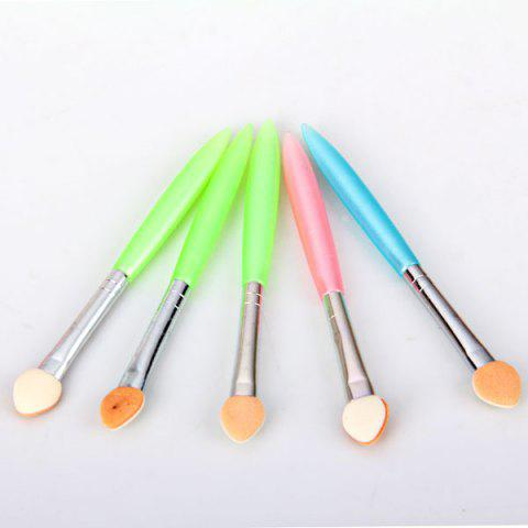 5 in 1 High Quality Soft and Small Size Design Cosmetic Eye Shadow Brush for Make-up Uses