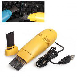 USB Vacuum Keyboard Cleaner Dust Collector For PC Laptop -