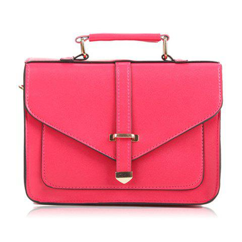 Discount Casual Pure Color and Rivets Design Women's Tote Bag