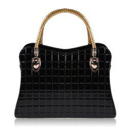 Outdoor Checked and Candy Color Design Women's Tote -
