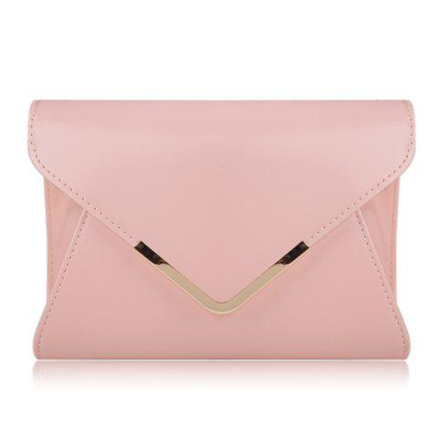 Sale Casual Candy Color and Fashion Metal Design Women's Crossbody Bag
