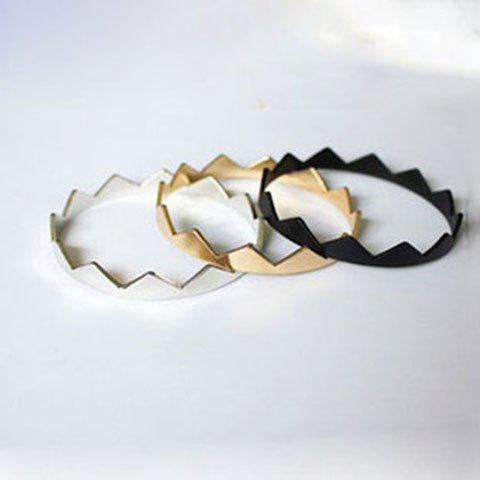 Trendy Simple Style Triangle Decorated Bracelets For Women