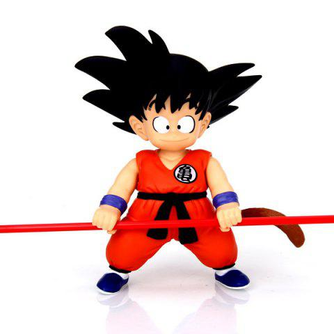 Discount Cool Anime Character Dragon Ball Songokou PVC Figure Model Toy for Cartoon Fans