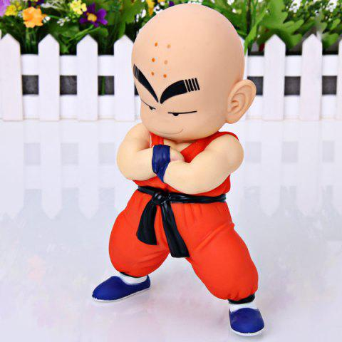 Affordable Cool Anime Character Dragon Ball 7 inch Kuririn PVC Figure Model Toy for Cartoon Fans