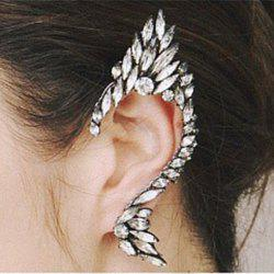 ONE PIECE Statement Rhinestoned Clip Earring -