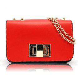 Sweet Candy Color and Chains Design Women's Shoulder Bag -