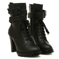 Women Black Combat Boots Cheap Shop Fashion Style With Free ...