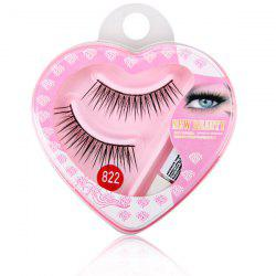 High-end Eyelash Face Make-up 822# Eyelash for Lady (1Pair) -