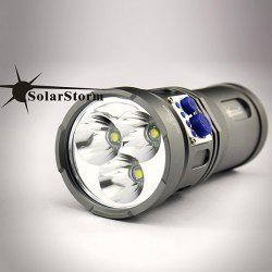 Attractive Design Solarstorm Warrior 3 x Cree XM-L U2 LED 2200 Lumens 4-Mode Flashlight