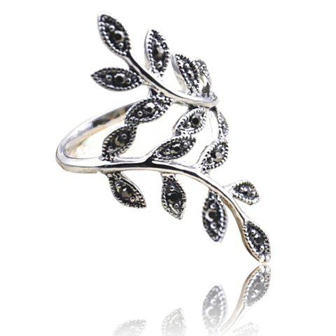 Cheap Curved Branch Shape Alloy Ring - ONE SIZE COLOR ASSORTED Mobile
