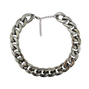 Chunky Thick Chain Adjustable Necklace