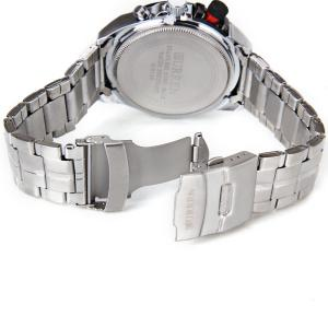 Curren Quartz Watch with Strips Indicate Steel Watchband for Men -