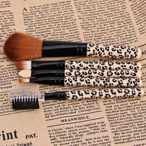 5PCS Professional and Practical Soft Cosmetic Face Brush Powder Brush Sets -