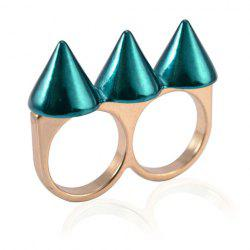Punk Rivet Decorated Ring For Women -