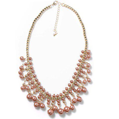 Shop Exquisite Colored Beaded Fake Collar Necklace For Women