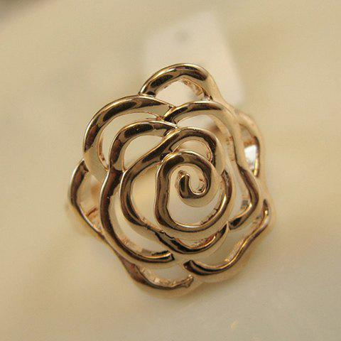 Best Openwork Flower Shape Ring