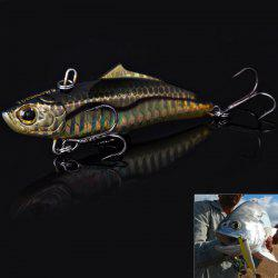 NO.1033 7.5cm 19g Fishing Lure Minnow Hard Plastic False Bait for River Sea Fishing