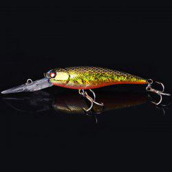 NO.YJ-60 75g 6cm Deep Promotion Hard Plastic Minnow Baits Fishing Lure Bait with Hook