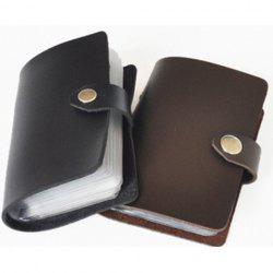 Convenient and Useful Leather Card Bag -