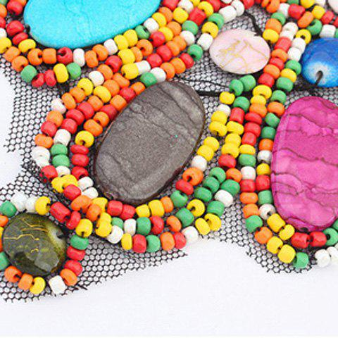 Buy Bohemia Colored Beads Detachable Collar Sweater Chain Necklace For Women - COLORFUL  Mobile
