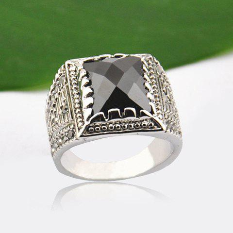 Buy Chic Gem Decorated Ring For Men COLORMIX ONE SIZE
