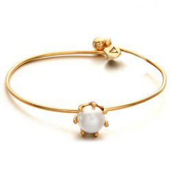 Simple Pearl Inlaid Bracelet For Women -