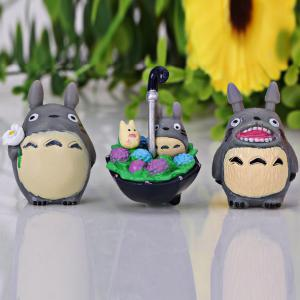 Nine Toy Per Package My Neighbor Totoro Cartoon Character Model for Cartoon Fans -
