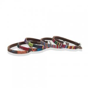 Faux Leather Woven Bracelet (ONE PIECE) -