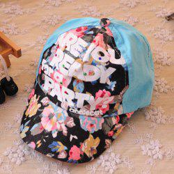 Sweet Lettered Printed Hat For Kids