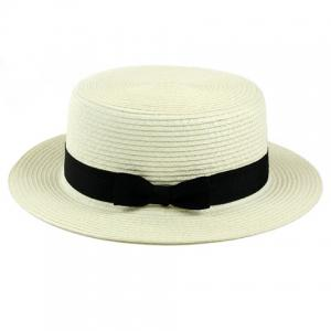 Bowknot Band 1920 Straw Hat -