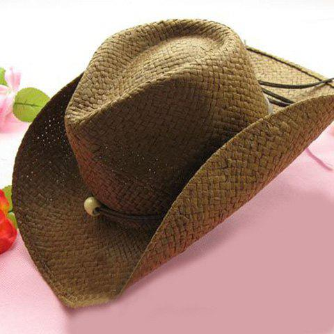 Latest Trendy Solid Color Cowboy Hat For Women