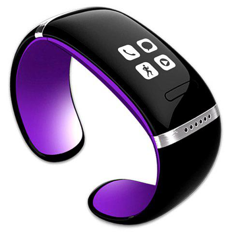 Latest Newest L12S OLED Watch and Sports Pedometer Bluetooth Bracelet with Call ID Display / Answer / Dial / SMS Sync / Music Player / Anti-lost for Samsung / HTC + More