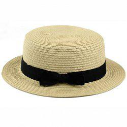 Bowknot Band 1920 Straw Hat