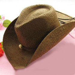Trendy Solid Color Cowboy Hat For Women -