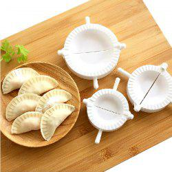 Environment Protection 3PCS Plastic Dumplings Moulds -
