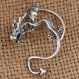 Punk Dragon Shape Ear Cuff