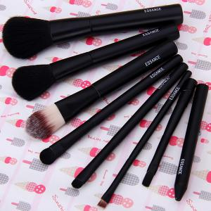 7PCS High-end Brush Sets Soft Cosmetic Face Powder Make-up Brush with Iron Box -