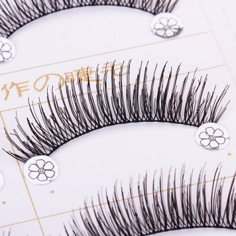 Shops F4 5 x Pairs of Long and Short False Eyelashes Big Eyes Fake Eye Lashes Makeup Cosmetic for Girls Women -   Mobile