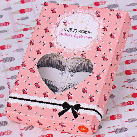 Shop F4 5 x Pairs of Long and Short False Eyelashes Big Eyes Fake Eye Lashes Makeup Cosmetic for Girls Women -   Mobile