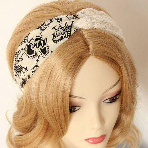 Outfit Stylish Flower Pattern Hairband For Women