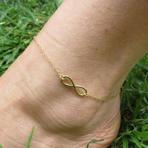 Fashion Hollow Out Infinity Foot Leg Anklet