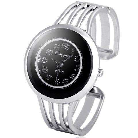 Hot Water Resistant Stylish Quartz Watch with Analog Indicate Steel Watchband for Women