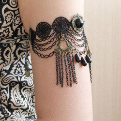 Exquisite Multi-Layered Tassels Pendant Round Lace Armlet & Bracelet For Women -