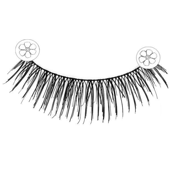 F4 5 x Pairs of Long and Short False Eyelashes Big Eyes Fake Eye Lashes Makeup Cosmetic for Girls WomenBEAUTY<br><br>Features: No Poison,Environment Friendly,Soft; Material: Fur,Plastic; Color: Black;