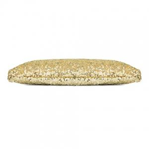 New Fashion Style Women's Sparkle Spangle Clutch Evening Bag - GOLDEN
