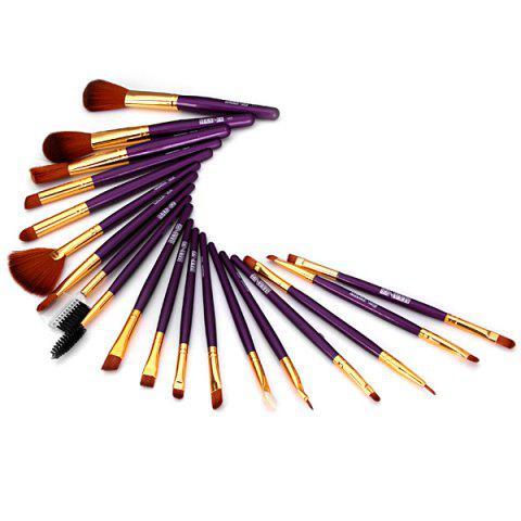 Discount 19PCS High-end Dresser Basic Brush Collection Cosmetic Blush Brush Full Coverage Face Brush Make-up Brush Tool