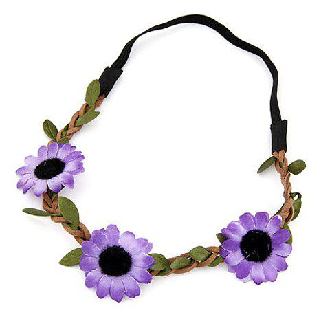 Outfits Cute Sun Flower Hairband For Women - COLOR ASSORTED  Mobile