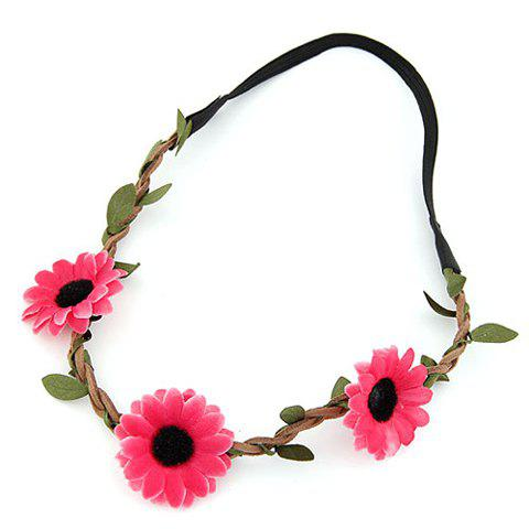 New Cute Sun Flower Hairband For Women - COLOR ASSORTED  Mobile